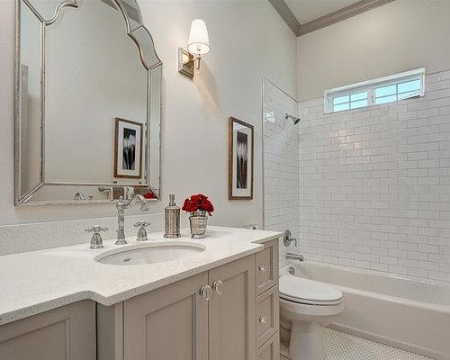 Transitional boise bathroom design ideas remodels photos for Bath remodel boise