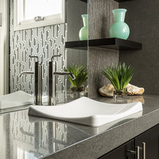 Contemporary Bathroom by Marc-Michaels Interior Design