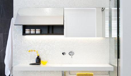 Mosaico Bianco in Bagno in 20 Bellissimi Esempi