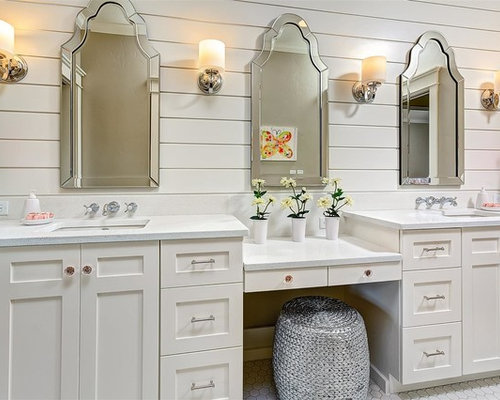 Mirror Over Vanity Home Design Ideas Pictures Remodel
