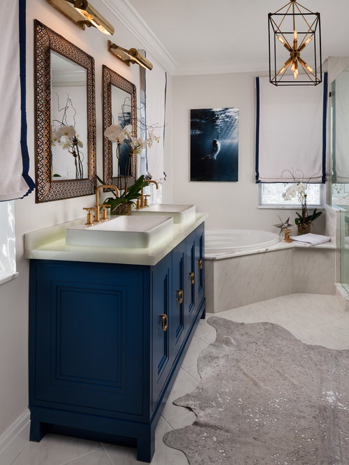 Blue Vanity Home Design Ideas Pictures Remodel And Decor