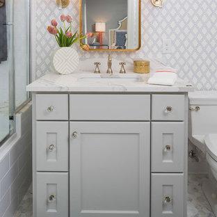Bathroom - transitional bathroom idea in Minneapolis
