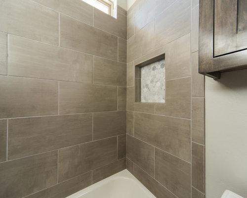 Oklahoma City Bathroom Design Ideas Renovations Photos With An Alcove Tub