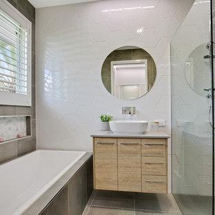 Beach style bathroom in Sunshine Coast.