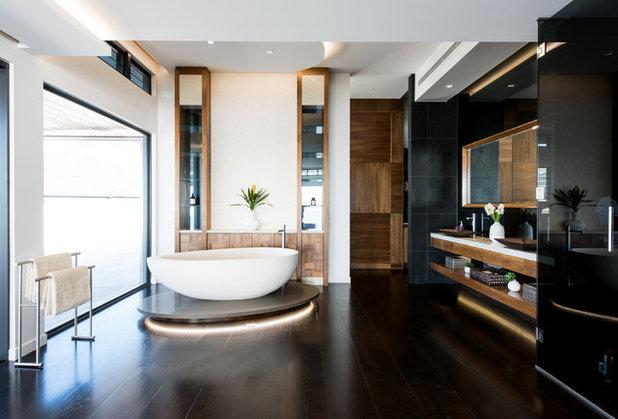 Contemporary Bathroom by Creative Lighting Concepts