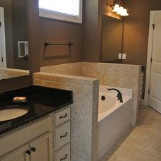 Craftsman Bathroom by Sylvia Mancha Paul