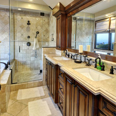 mediterranean bathroom by White Sands Coastal Development