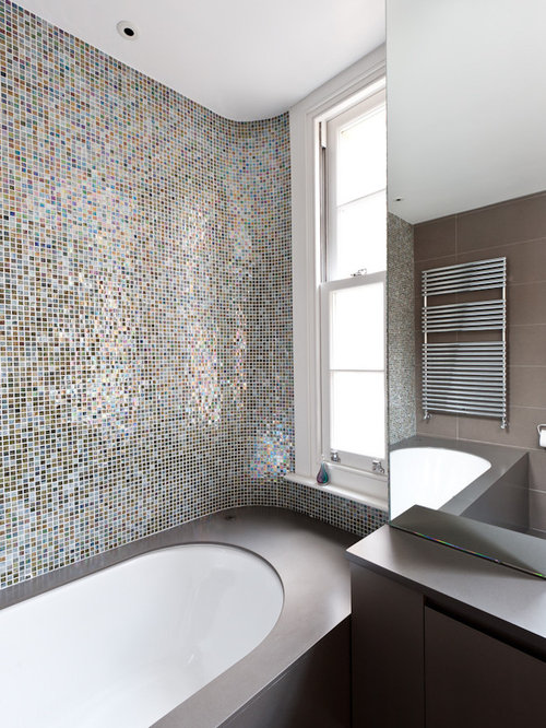 bathroom tiling pictures bubbles mosaic tile ideas pictures remodel and decor 11861