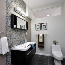 Contemporary Bathroom by Busybee Design