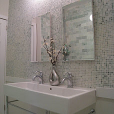 Contemporary Bathroom by Design Shop - Interiors & Staging