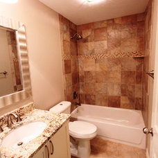 Traditional Bathroom by Sandhoff Construction