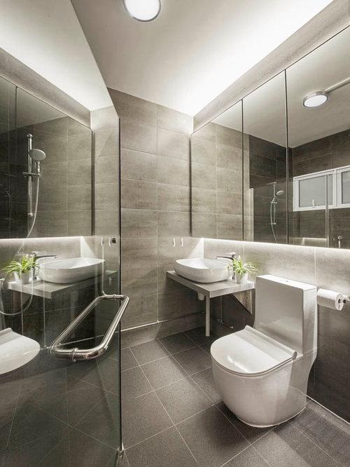 salles de bains et wc scandinaves avec une douche double photos et id es d co de salles de. Black Bedroom Furniture Sets. Home Design Ideas