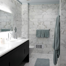 Contemporary Bathroom by Holzman Interiors, Inc.