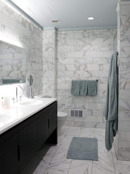 calcutta marble tile ideas, pictures, remodel and decor, Home decor