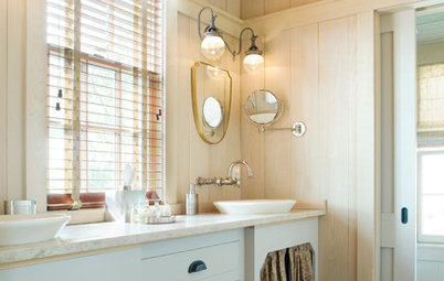 8 Elements of a Farmhouse-Style Bathroom
