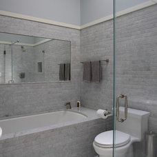 Modern Bathroom by Podesta Construction