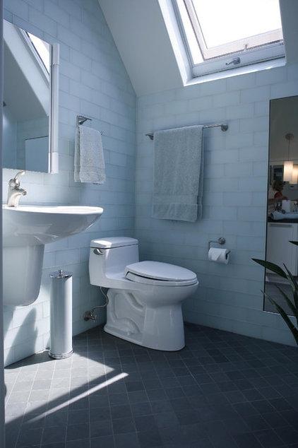 Modern Bathroom by Podesta Construction