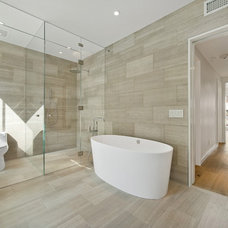 contemporary bathroom by TURETT COLLABORATIVE ARCHITECTS