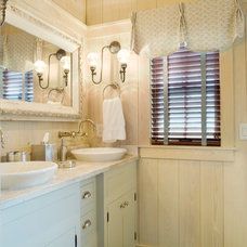 Farmhouse Bathroom by Our Town Plans