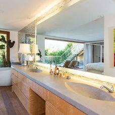 Contemporary Bathroom by Chryssanthou, Inc.
