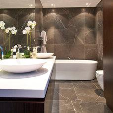 Contemporary Bathroom by Lexis Design Pty Ltd