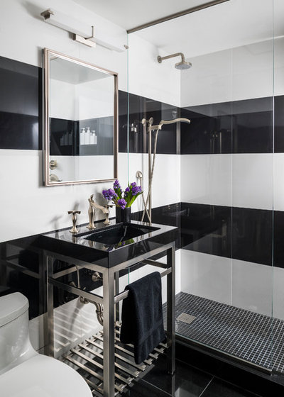 Contemporary Bathroom by Evelyn James Interiors