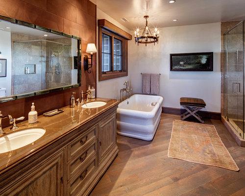 SaveEmail. Salt Lake City Bathroom Design Ideas  Remodels   Photos with Brown