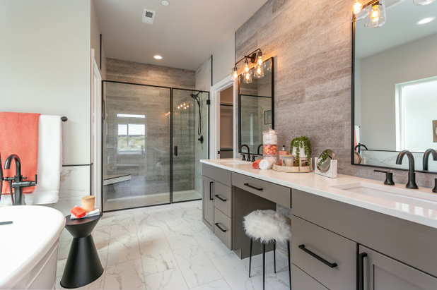 Contemporary Bathroom by Prodigy Homes Inc.