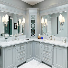 Traditional Bathroom by Fritz Construction, Inc.