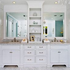 Traditional Bathroom by DTM INTERIORS