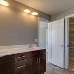 Traditional Modern Twist Traditional Bathroom Chicago By Ashley Avery Palmetto Cabinet