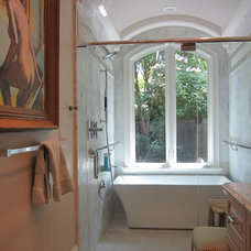 Traditional Bathroom by Pamela Foster & Associates, Inc.