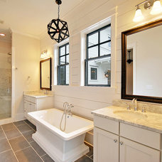 Traditional Bathroom by HND2 Associates