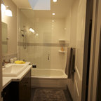 Master Ensuite Bathroom - www.dundenehomes.ca - Contemporary - Bathroom - Toronto - by Brandon ...