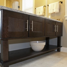 Contemporary Bathroom by Starlite Kitchens and Baths