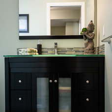 Contemporary Bathroom by The Spotted Frog Designs