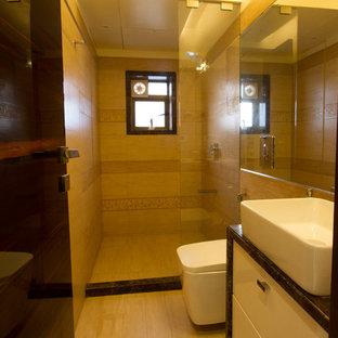 Inspiration för ett funkis badrum
