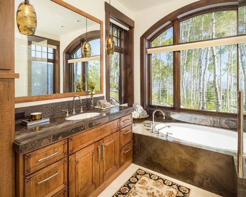 48 Trendy Huge Brown Tile Bathroom Design Ideas Pictures Of Huge Delectable Bathroom Remodeling Salt Lake City Ideas