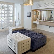Contemporary Bathroom by Kimberley Seldon Design Group