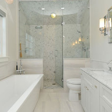 Contemporary Bathroom by Kits Construction