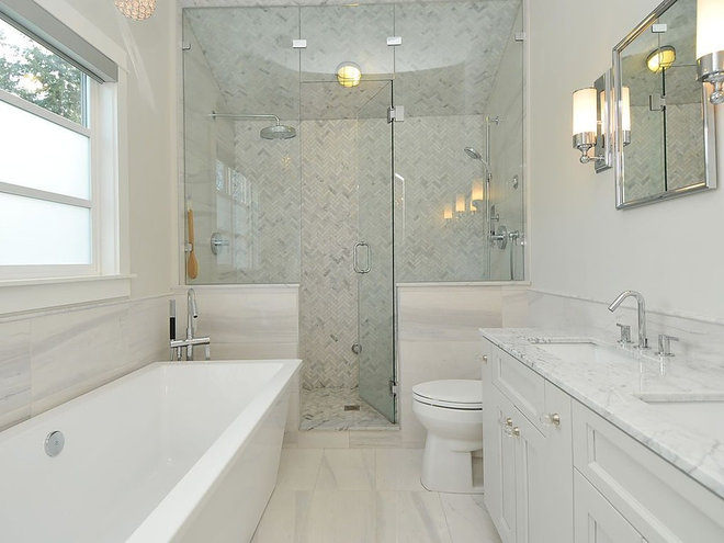 Contemporary Bathroom by Kits Construction