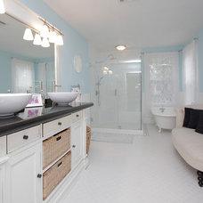 Transitional Bathroom by MattWatson.com - REALTOR®