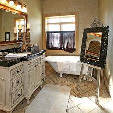 Mediterranean Bathroom by Dynamic Capital LLC