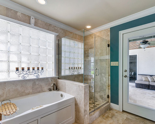 Shower Knee Wall Ideas, Pictures, Remodel and Decor