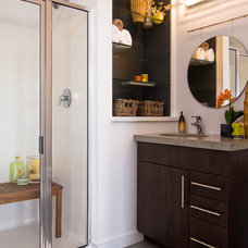 Modern Bathroom by Shop Just Perfect!