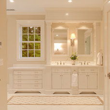 Traditional Bathroom by Hope Beckman Design