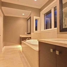 Traditional Bathroom by Marble Construction