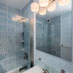 Traditional Calacatta Bathroom