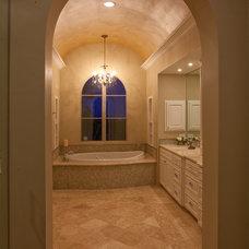 Contemporary Bathroom by David Mills Custom Homes