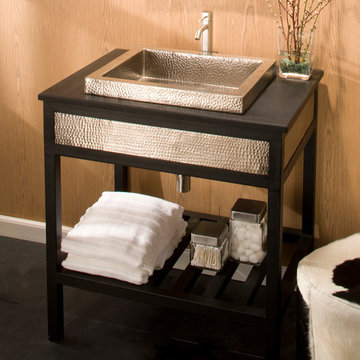 """36"""" Cuzco Vanity in Brushed Nickel by Native Trails"""